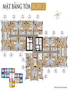 thiết kế tòa ruby 2 goldmark city