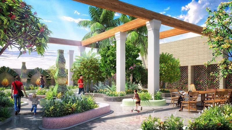 Vườn Nhiệt đới - Tòa Sapphire 3